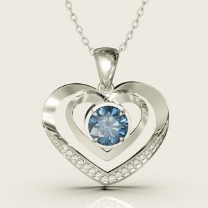Sterling Silver Perfect Heart Pendant